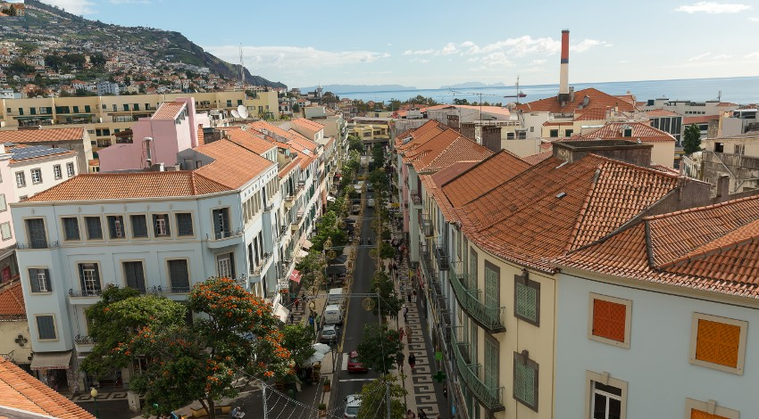 The hustle of Funchal