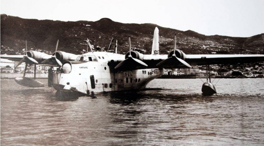 The flying boat